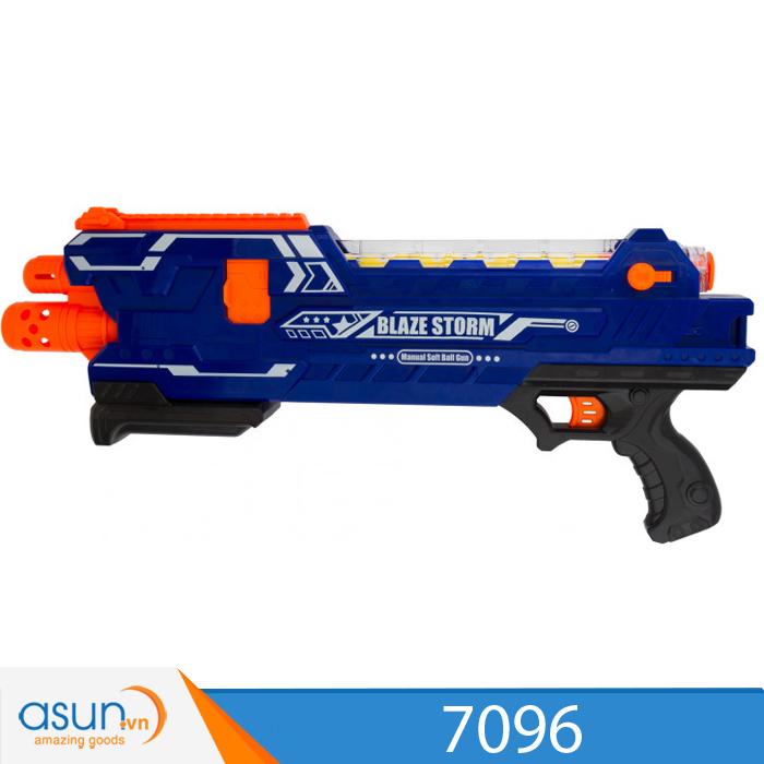 Súng Bắn Đạn Xốp Soft Gun 7096 Blaze Storm