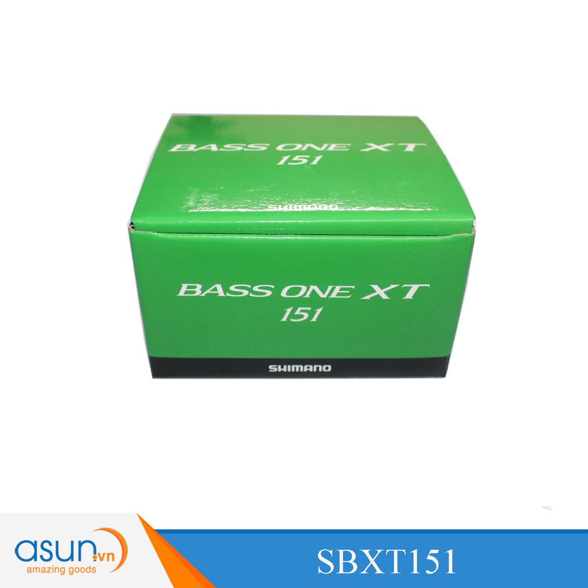 Máy Câu Ngang Shimano Bass One XT 151 - Chính Hãng tay quay bên trái