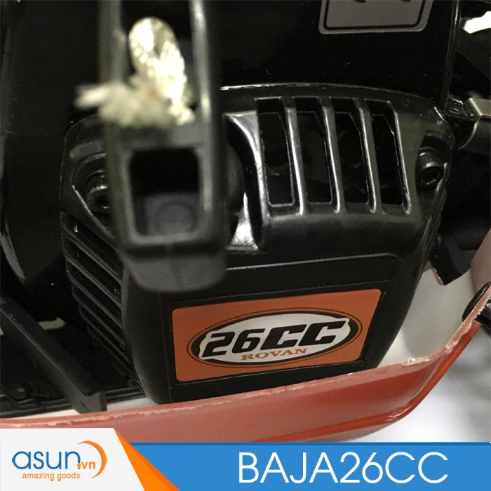 Combo Xe Xăng A92- A95Điều Khiển BAJA5B01 26cc Đỏ Tỉ lệ 1-5 - TT