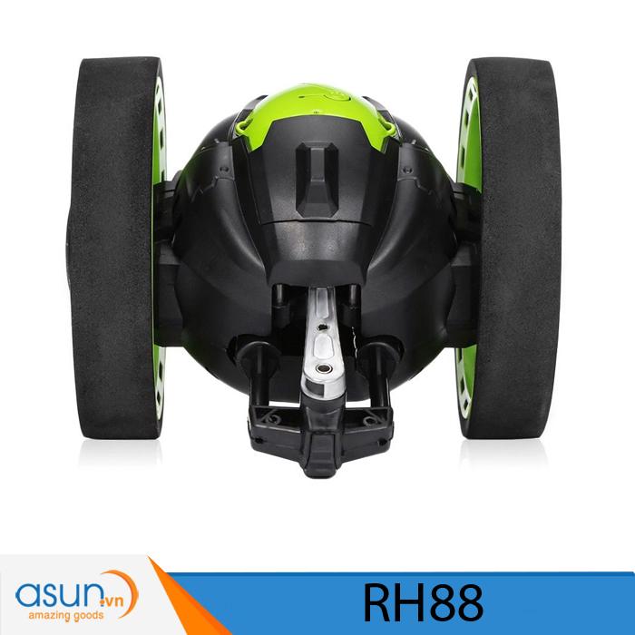 Xe Điều Khiển Từ Xa Nhún Nhảy RH88 Xanh Vượt Địa Hình Bounce Car 2.4Ghz