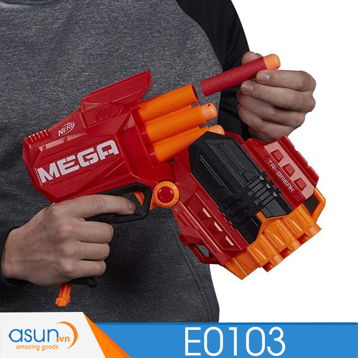 Súng NERF TRI-STRIKE MEGA N-STRIKE E0103