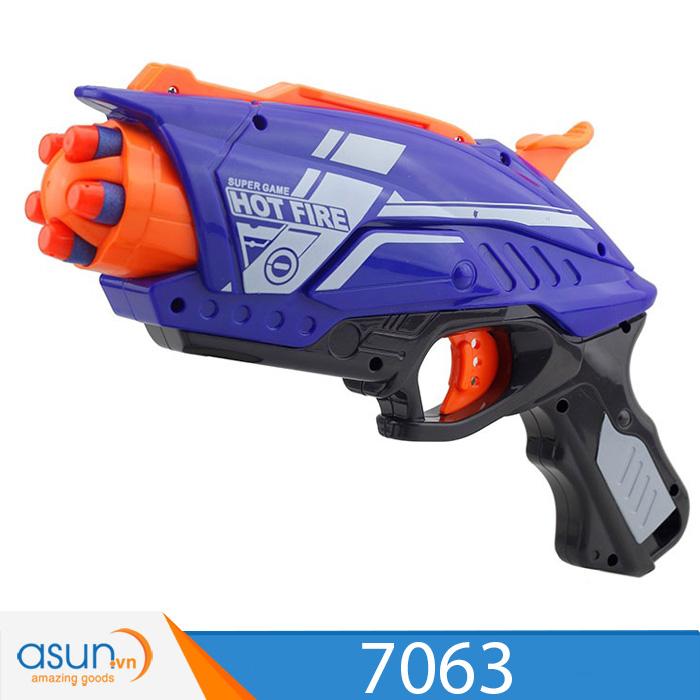 Súng Bắn Đạn Xốp Soft Gun Hot Fire 7063