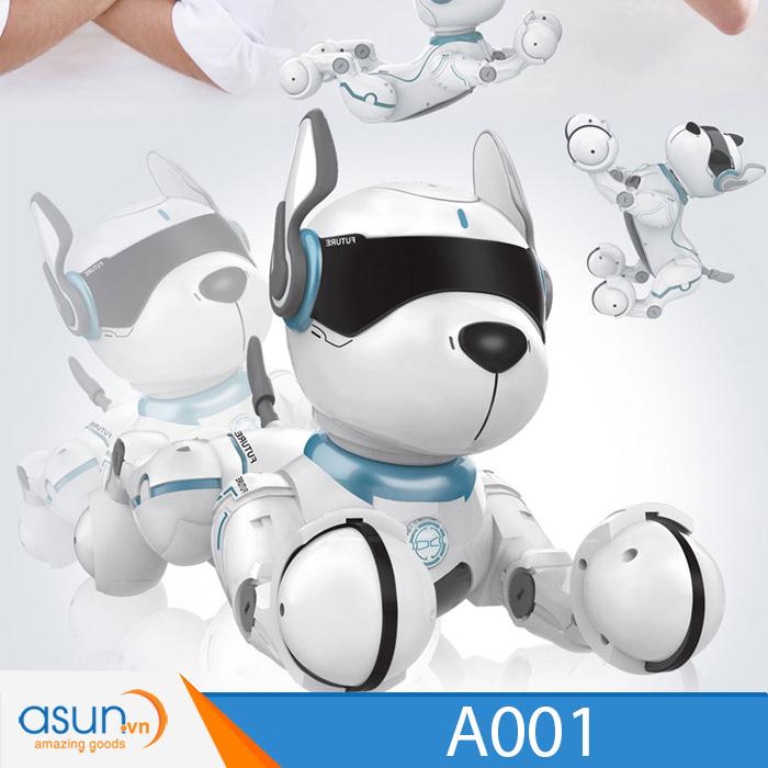 Chú Chó Robot Thông Minh Smart Dog Leidy Dog JXD A001 Điều Khiển Từ Xa và Giọng Nói