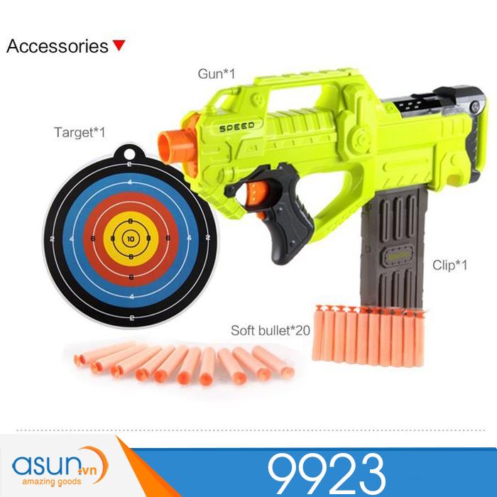 Súng Bắn Đạn Xốp Soft Gun 9923