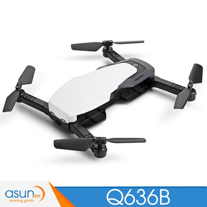 Máy Bay Điều Khiển Gấp Cánh Drone Wltoys Q636-B WIfi Camera Tự Giữ Độ Cao