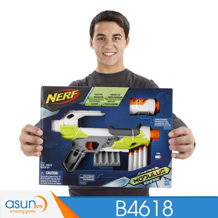 Súng NERF  MODULUS IONFIRE N-STRIKE B4618