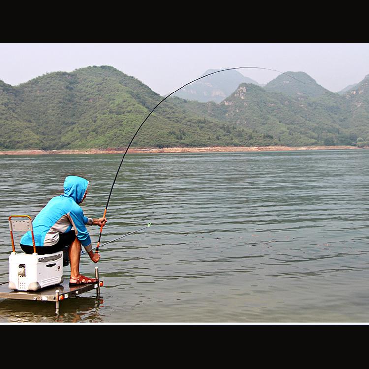 Cần Câu Tay Lei Yu Wang Màu Cam 5407 - 5m4 Cần câu chính hãng