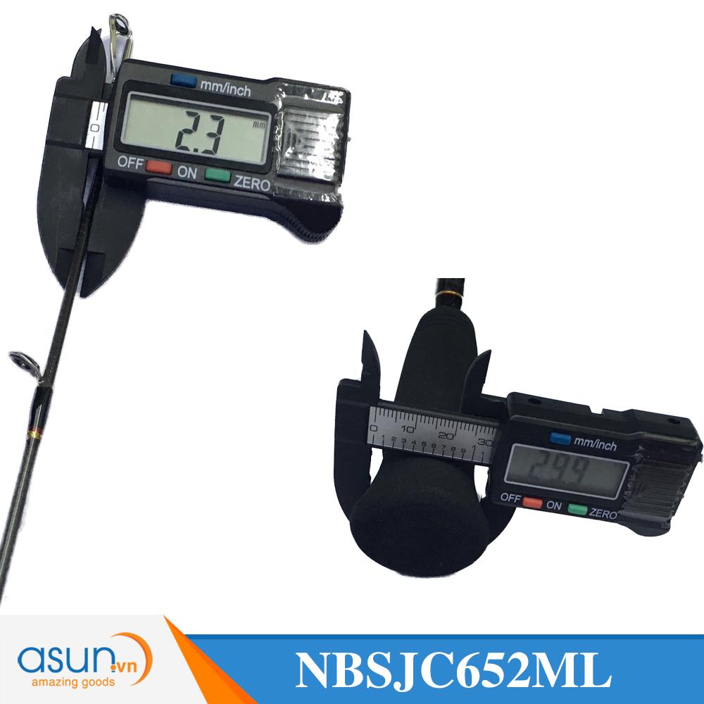Cần Câu Máy Ngang Noeby Leisure Slow Jigging 1m96 - NBSJC652ML - Chính Hãng