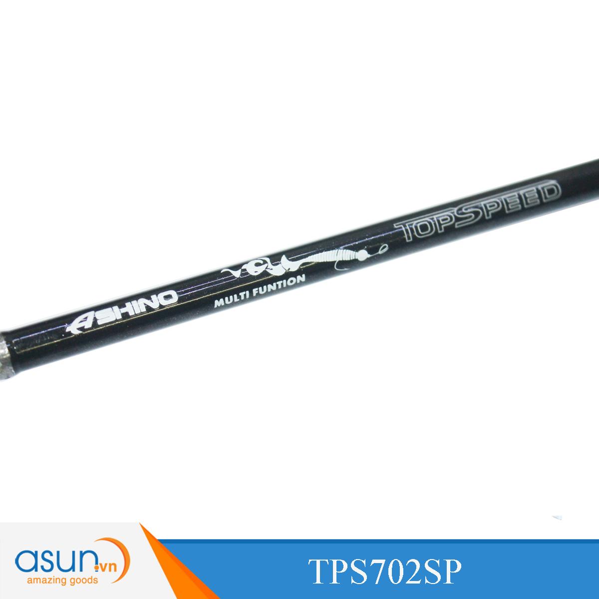 Cần Câu Ngang Hai Khúc Ashino Top Speed TPS702SP - 2m1 - Chính Hãng