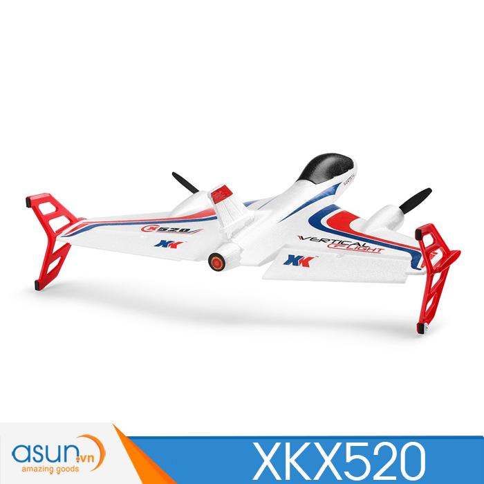 Máy Bay Cánh Bằng Điều Khiển Từ Xa XK X520 Camera FPV 5G