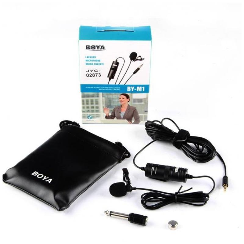 Micro thu âm kỹ thuật số cài áo Boya BY-M1