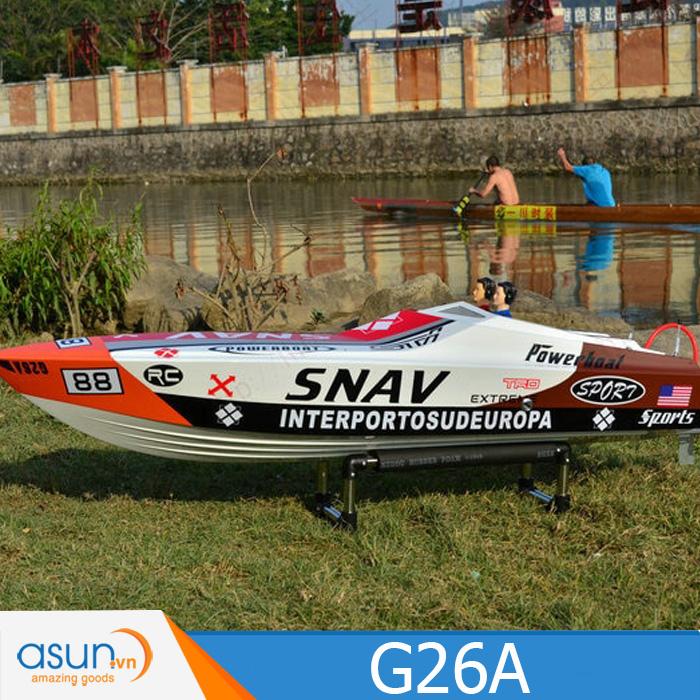 HÀNG ĐẶT TRƯỚC - HÀNG ORDER - Tàu - Cano Chạy Xăng DTRC SNAV G26A