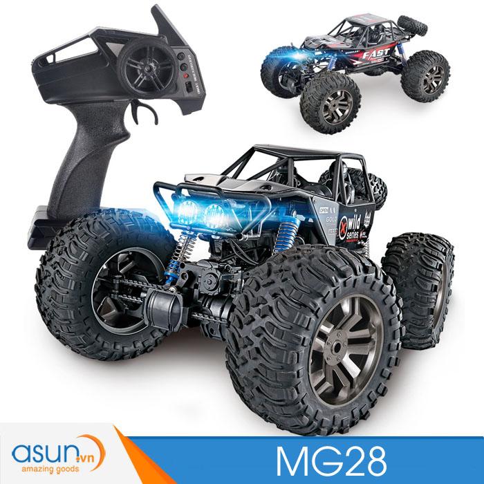Xe Điều Khiển Địa Hình Rock Crawler MG28 tỉ lệ 1:8 to 4x4