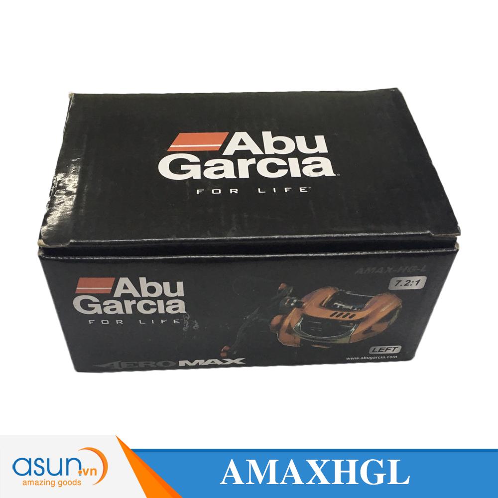 Máy Câu Ngang Abu Garcia AEROMAX AMAX-HG tay trái BH 1 Năm Chính Hãng