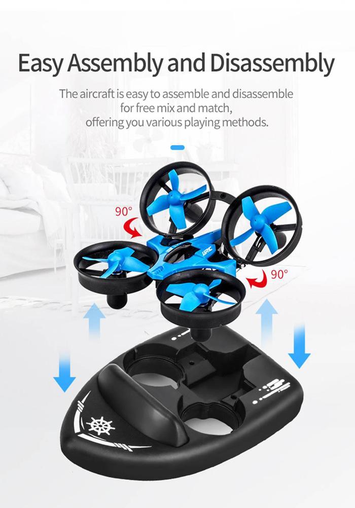 Máy Bay Điều Khiển 3in1 JJRC H36F Terzetto Drone
