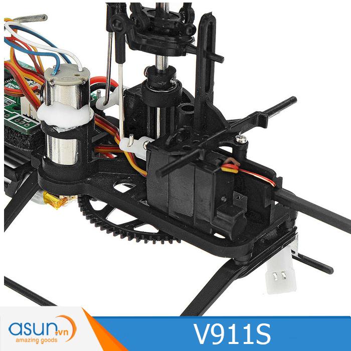Máy bay trực thăng điều khiển Wltoys V911S 4 kênh mini