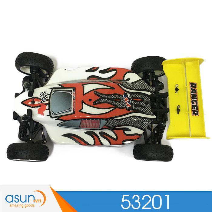 Xe BuggyFull kim loạiĐiều Khiển Từ Xa FS Racing 53201 Màu Trắng Đỏ 1:10