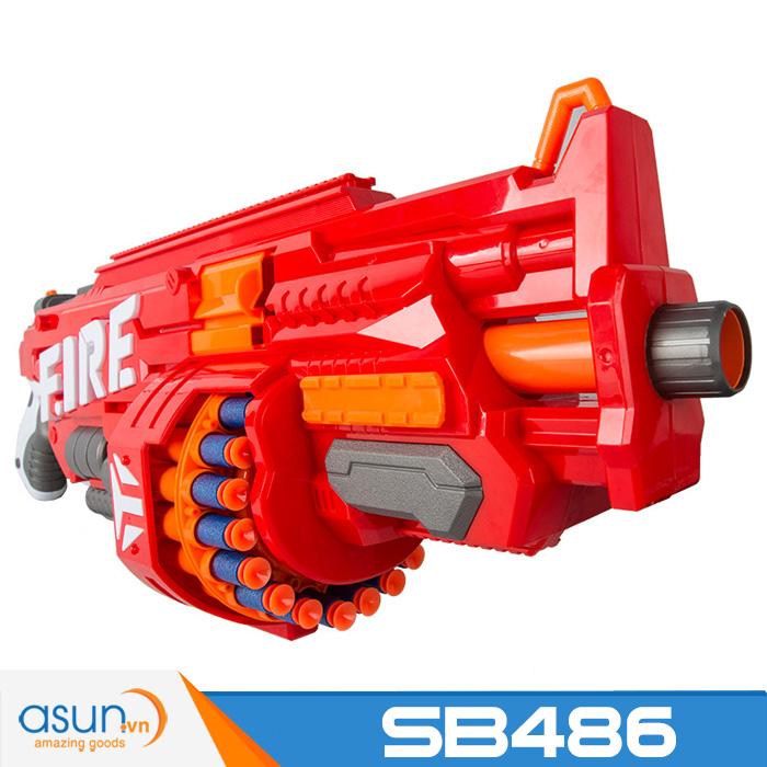 Súng Bắn Đạn Xốp Soft Gun SB486