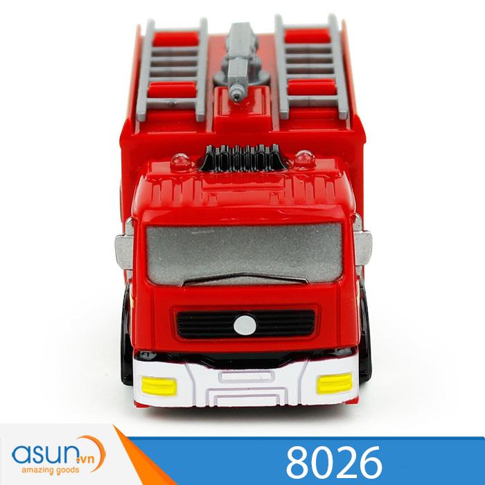 Xe Cứu Hỏa Điều Khiển Từ Xa Mini 8026 Có đèn led âm thanh