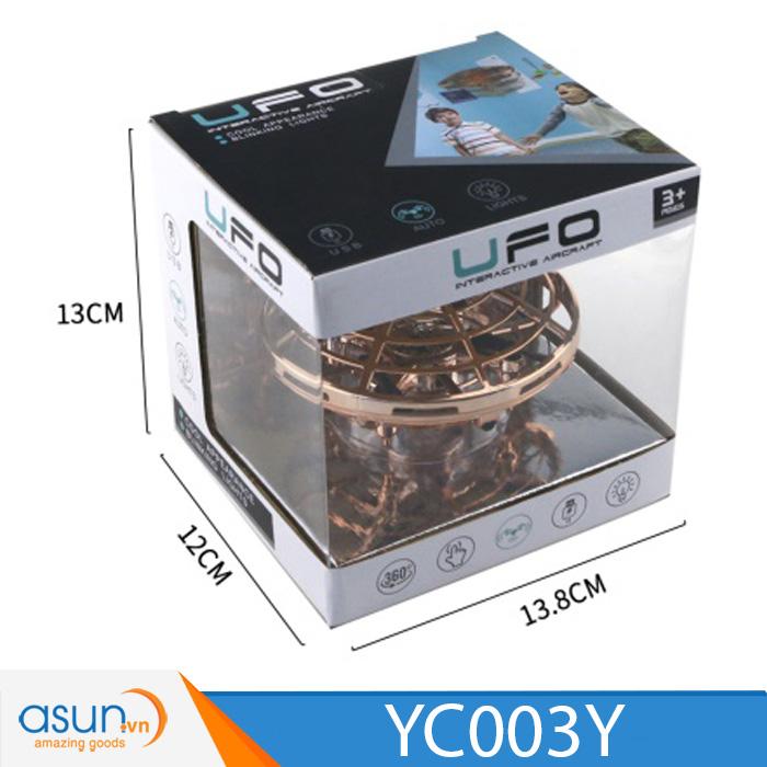 Máy Bay Điều Khiển Cảm Ứng Tay  UFO 003Y MÀU VÀNG