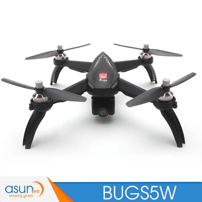 Máy Bay Điều Khiển Từ Xa MJX Bugs 5W GPS Wifi FPV 1080P B5W