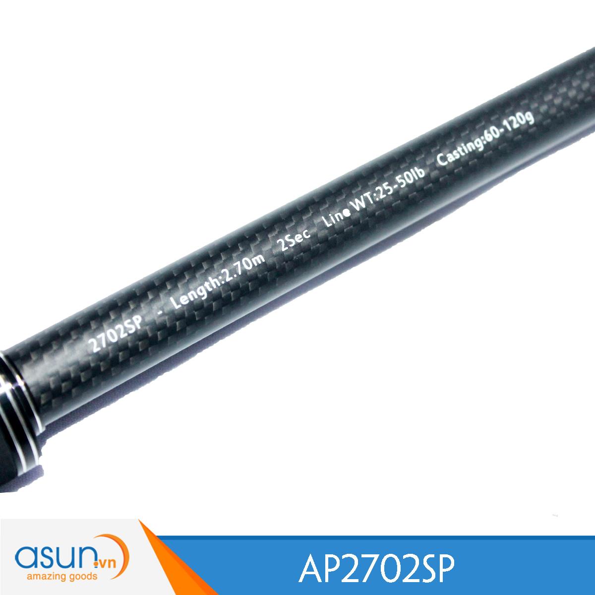 Cần Câu Máy Hai Khúc Ashino Pro Tamba 2m7 - Chính Hãng - Carbon AP2702SP