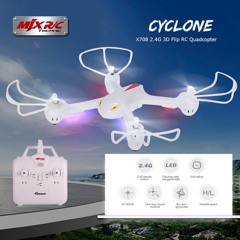 Máy Bay Điều Khiển Từ Xa 4 Cánh MJX RC X708 Quadcopter