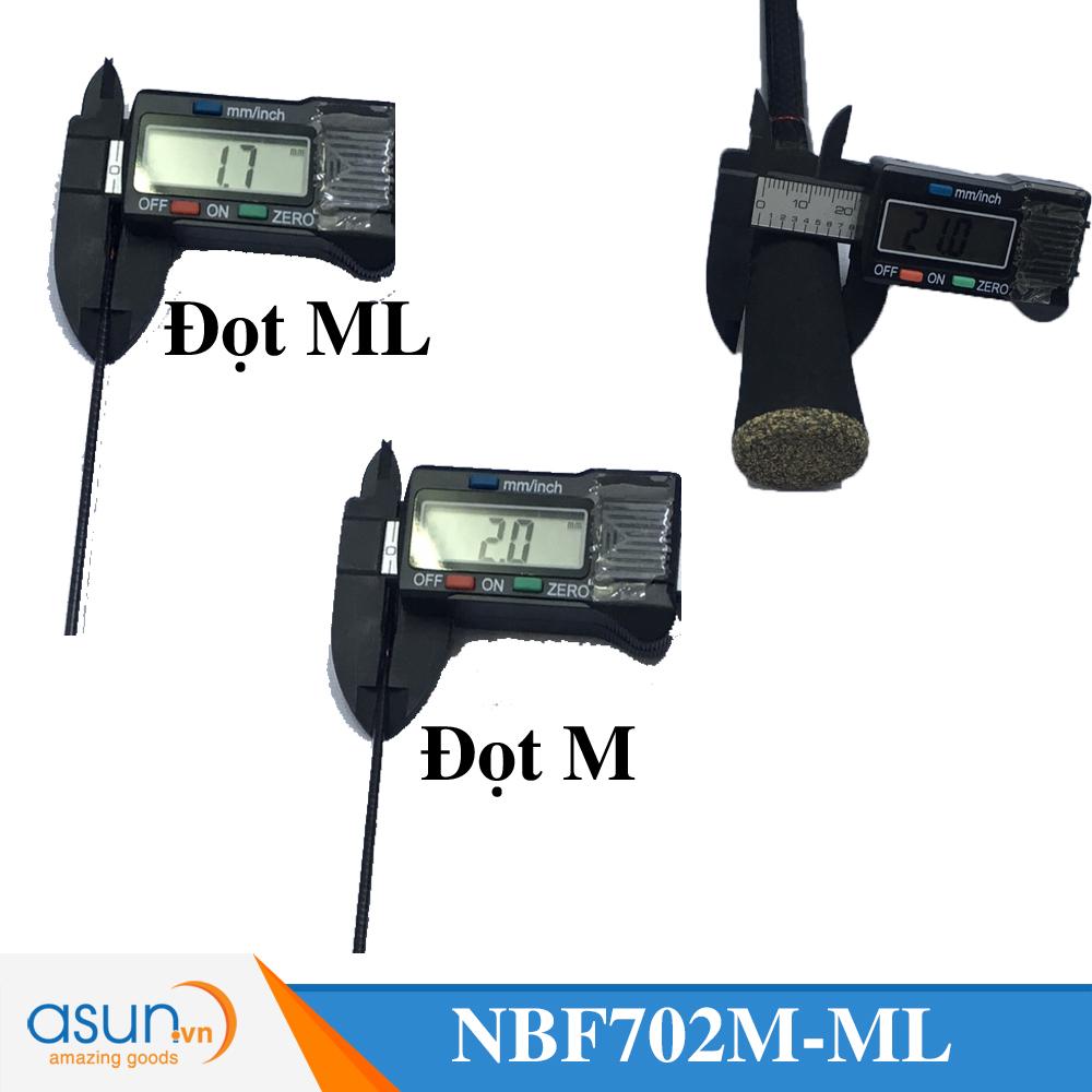 Cần Câu Máy Noeby Leisure K2 2M1 Hai Đọt M-ML  chính hãng