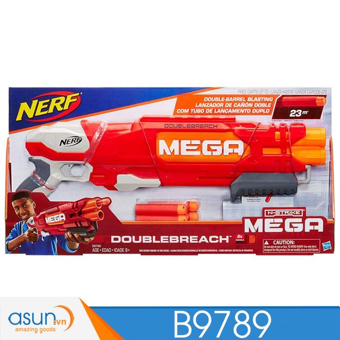 Súng NERF  DOUBLEBREACH MEGA N-STRIKE B9789