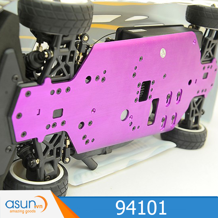 Combo Xe Xăng Nitro Điều Khiển  HSP 1:10 94101 On Road 4WD