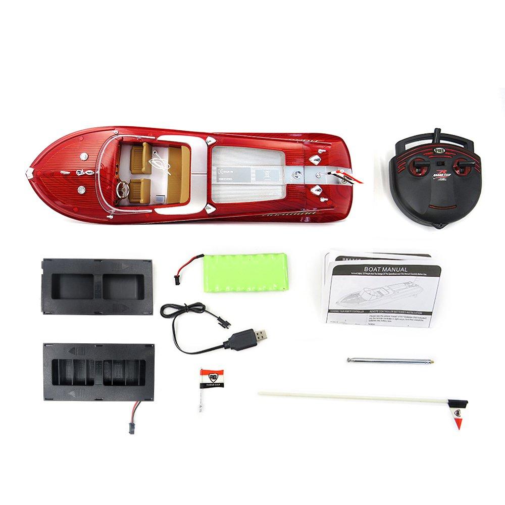 Thuyền Đua Rc Tốc Độ Cao Flytec Hq2011-1 46Cm 27Mhz 4Ch 15Km / H