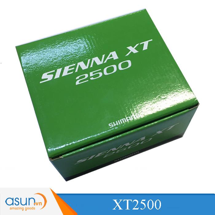 MÁY CÂU CÁ Shimano SIENNA XT 2500 BH 3 Tháng Hot 2018