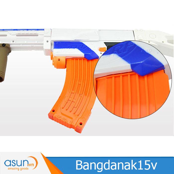 Băng Đạn Dạng AK 15 Viên Cho Súng Đạn Xốp