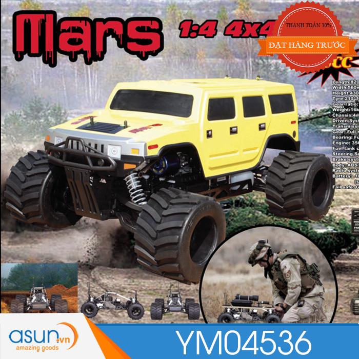 HÀNG ĐẶT TRƯỚC ComboXeA92- A95Điều Khiển Từ Xa Monster Truck YM04536 Máy 35cc Tỉ Lệ 1:5 90-100km
