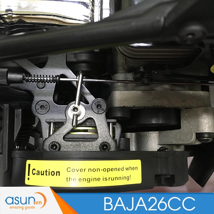 Combo Xe Xăng A92- A95Điều Khiển BAJA5B01 Xanh 26cc Tỉ lệ 1-5