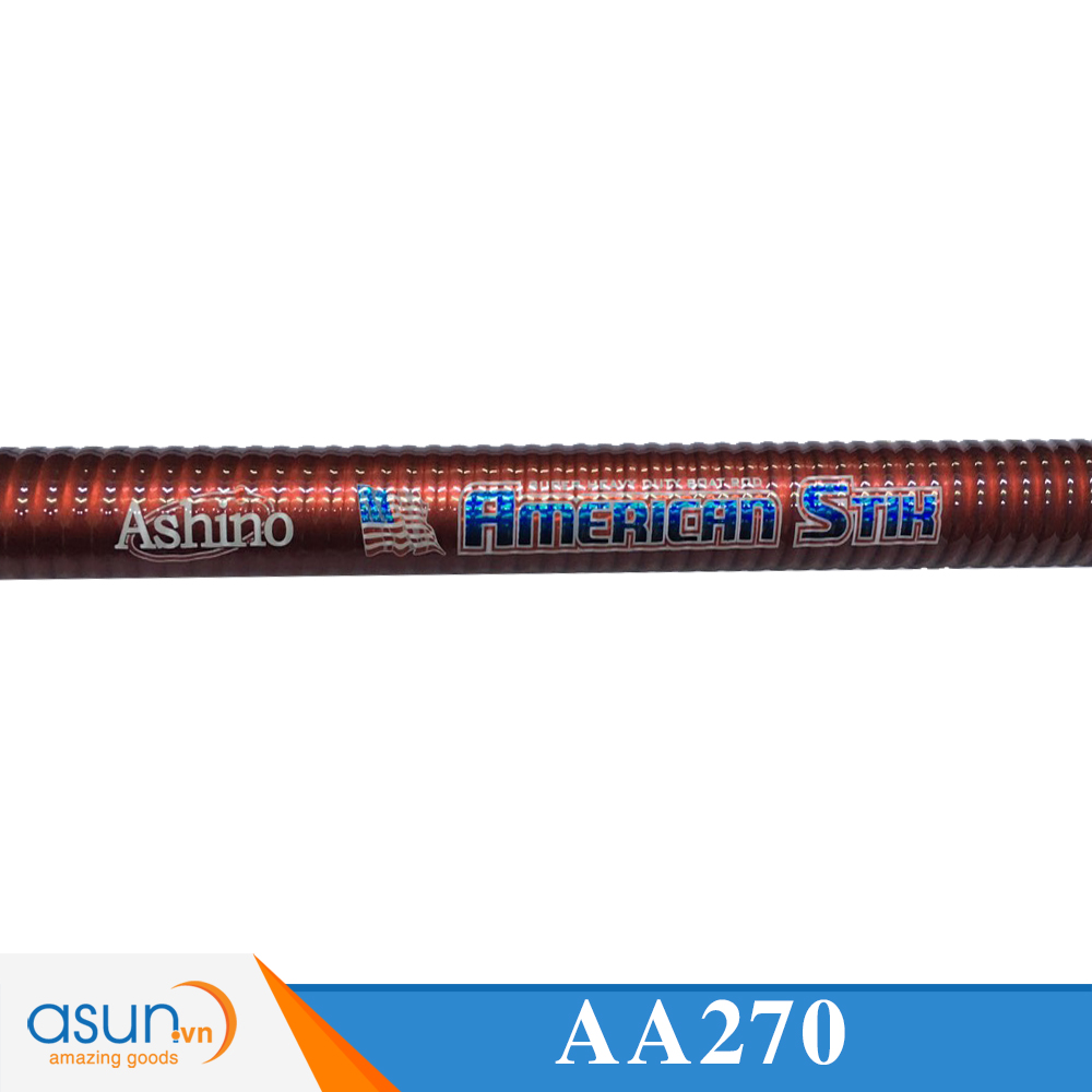 Cần Câu Máy Hai Khúc Ashino American Stik 2m7 - Cần Câu Chính Hãng