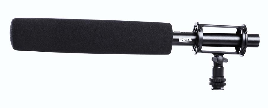 Micro thu âm phỏng vấn kỹ thuật số Boya BY-PVM1000L