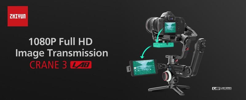 Tay cầm chống rung Gimbal Zhiyun Crane 3 Lab cho Camera DSLR - Chính hãng