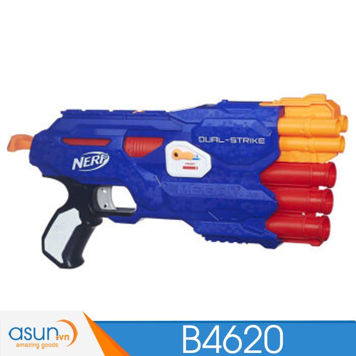 Súng NERF  DUAL-STRIKE N-STRIKE B4620