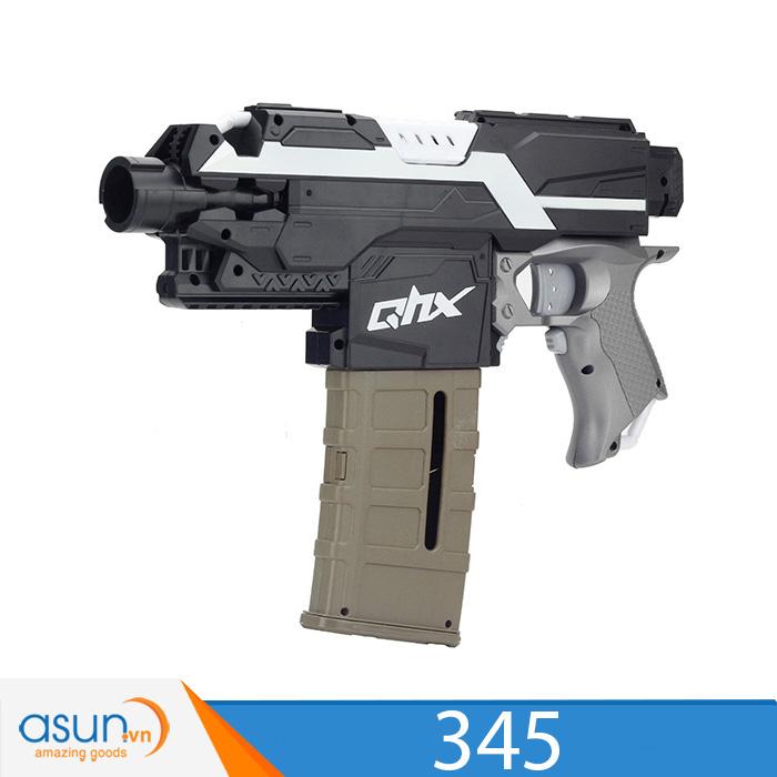 Súng Bắn Đạn Xốp Soft Gun  345 súng liên thanh