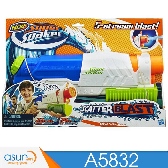 Súng Nước Một Nòng NERF SUPER SOAKER A5832