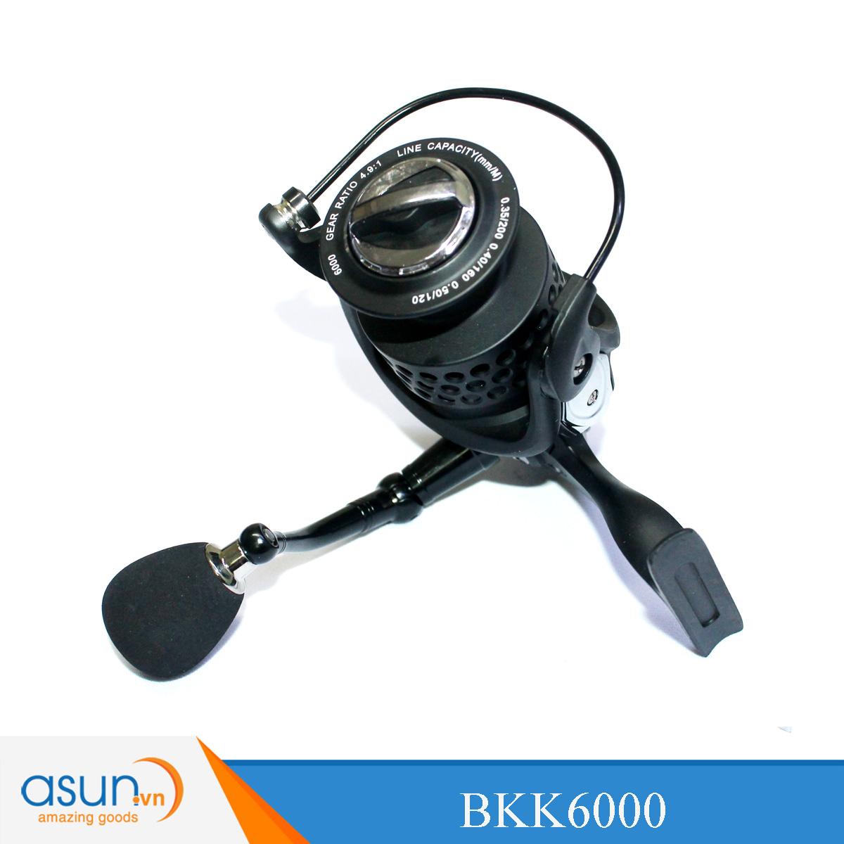 Máy Câu Đứng I Lure BKK6000 - Chính Hãng Bảo Hành 3 Tháng