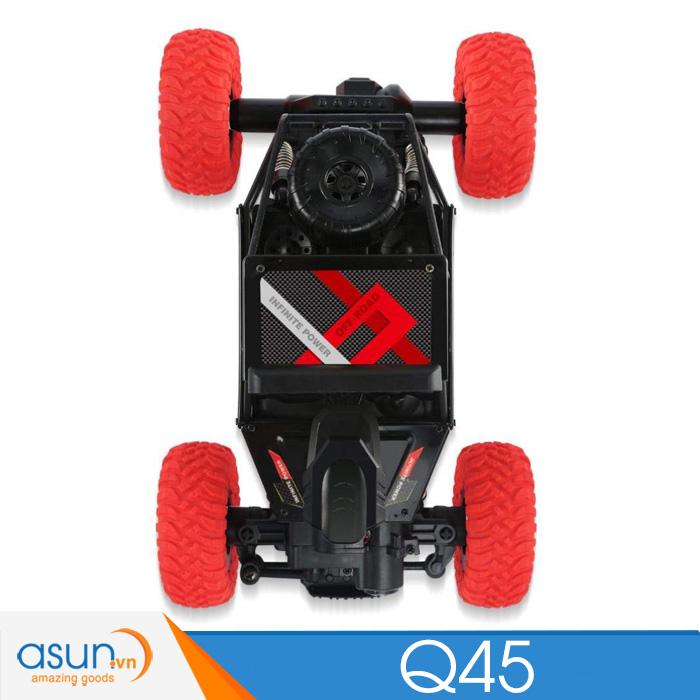 Xe  Điều Khiển Địa Hình Rock Crawler JJRC Q45 4WD Wifi Camera Đỏ