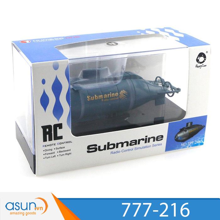 Tàu Ngầm Điều Khiển Từ Xa Submarine 777-216 HappyCow Cải Tiến