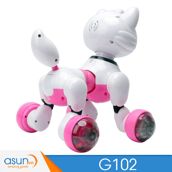 Chú Mèo Robot Thông Minh Điều Khiển Bằng Giọng Nói Cindy G102