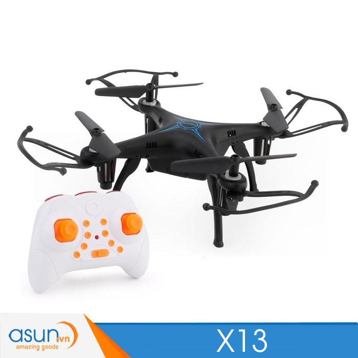 Máy Bay Điều Khiển Từ Xa mini Drone X13 Quadcopter Nhào Lộn 360