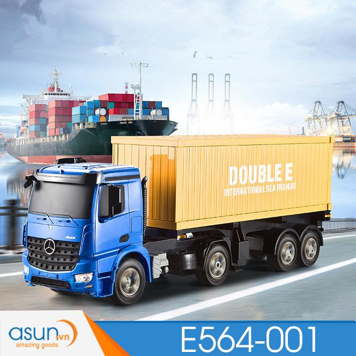 Xe Công Trình Đầu Kéo Container ĐIều Khiển Từ Xa E564