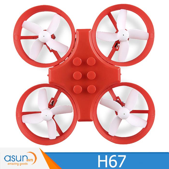 Máy Bay Điều Khiển JJRC H67 Drone Đỏ
