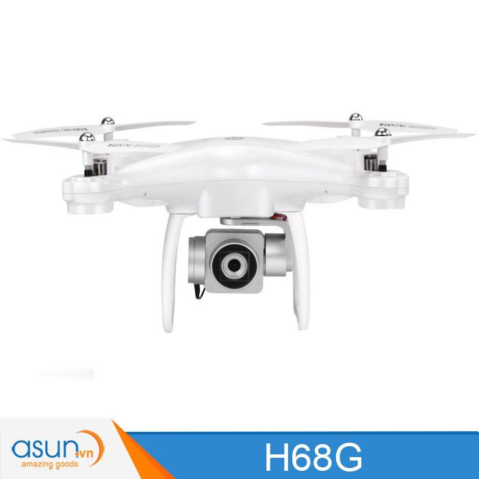 Máy Bay Điều Khiển Drone JJRC H68G Định vị GPS Camera 1080P Wifi 5G Trắng