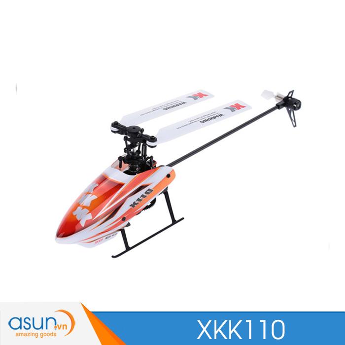 Máy Bay Điều Khiển XK K110 Shuttle 6CH Brushless 3D6G